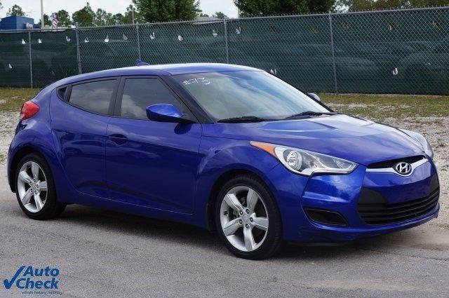 2012 Hyundai Veloster Base 3dr Coupe wBlack Seats Front Wheel Drive Power Steering 4-Wheel Disc