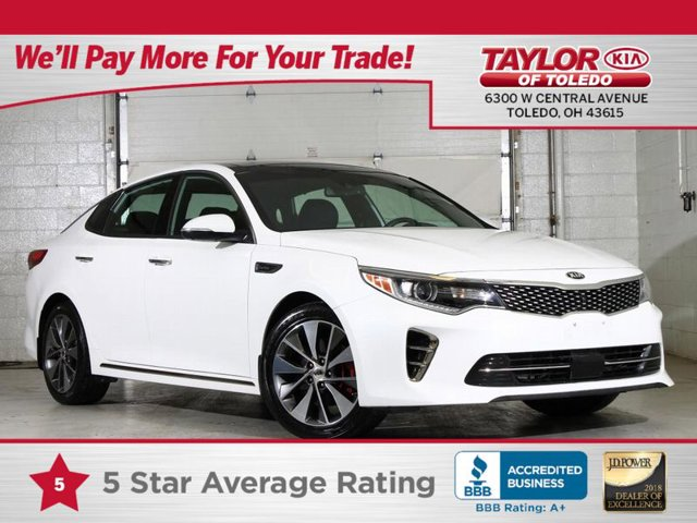 2016 Kia Optima SXL Turbo Snow White Pearl