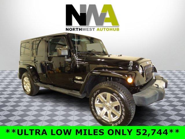 2014 Jeep Wrangler Unlimited Sahara 4WD Hard Top