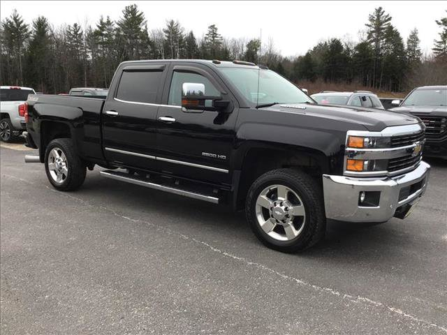 2016 Chevrolet Silverado 2500HD LTZ Black
