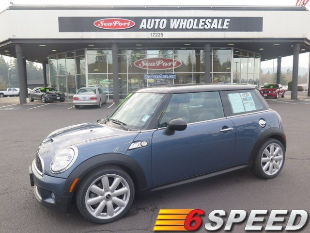 2010 MINI Cooper S Turbocharged Front Wheel Drive Power Steering 4-Wheel Disc Brakes Aluminum W