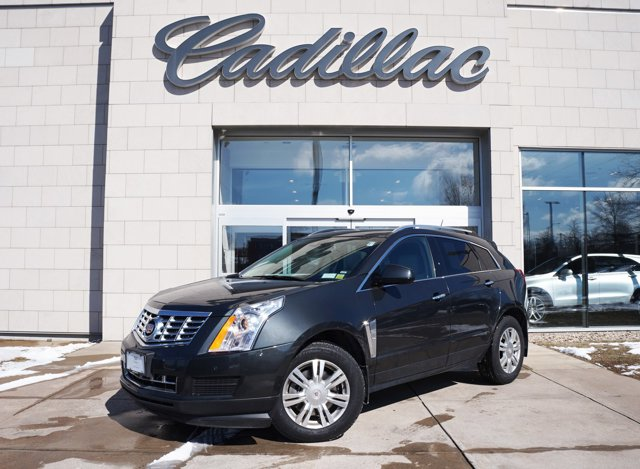 2016 Cadillac SRX Luxury Collection Graphite Metallic