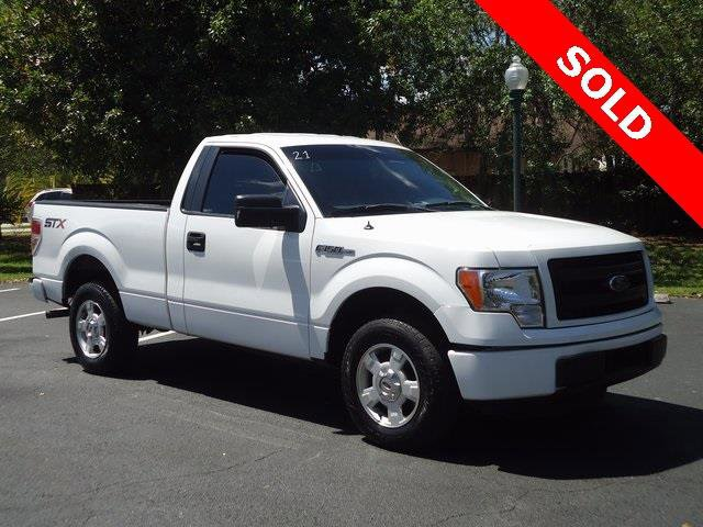 2014 Ford F-150 STX 4x2 2dr Regular Cab Styleside 65 ft SB Rear Wheel Drive Power Steering ABS