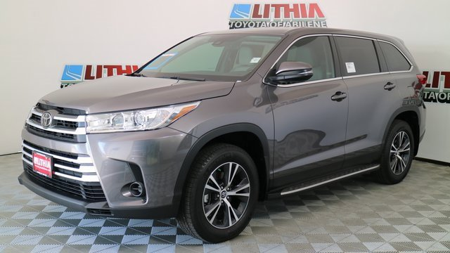 New 2019 Toyota Highlander in Abilene, TX