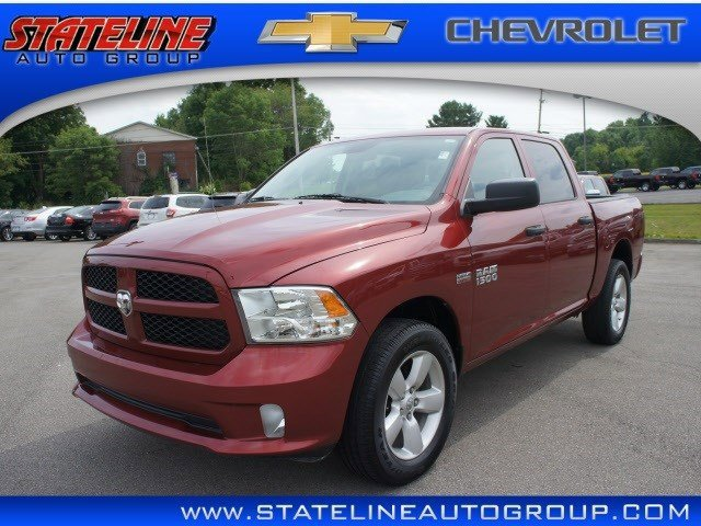 2014 Ram 1500 Express Four Wheel Drive Power Steering ABS 4-Wheel Disc Brakes Brake Assist Alu