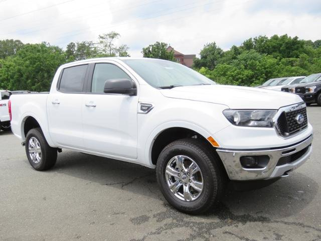 Oxford White 2019 Ford Ranger XLT Crew Cab Pickup Winston-Salem NC