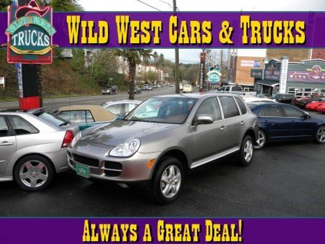 2004 Porsche Cayenne S All Wheel Drive Traction Control Stability Control Tires - Front Performa