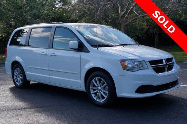 2014 Dodge Grand Caravan SXT 4dr Mini Van Front Wheel Drive Power Steering ABS 4-Wheel Disc Brak