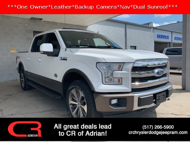 2017 Ford F-150 King Ranch White