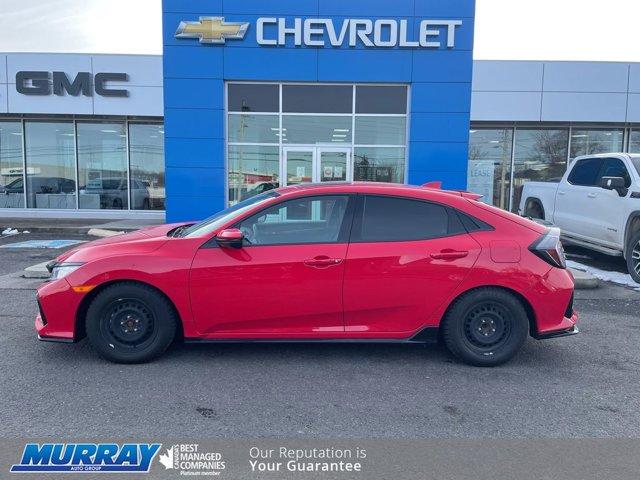 2018 Honda Civic Hatchback Sport Touring Sport Touring CVT Intercooled Turbo Premium Unleaded I-4 1.5 L/91 [14]