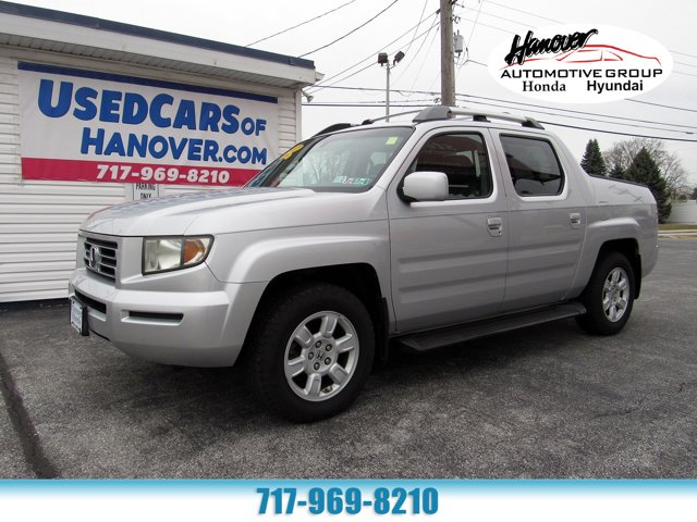 2007 Honda Ridgeline RTL w/Leather & Navi