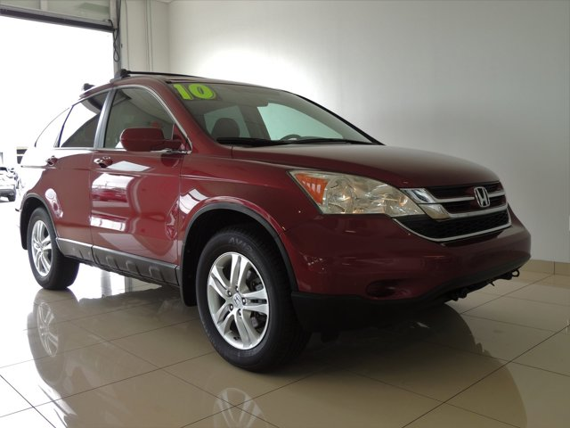 Red 2010 Honda CR-V EX-L