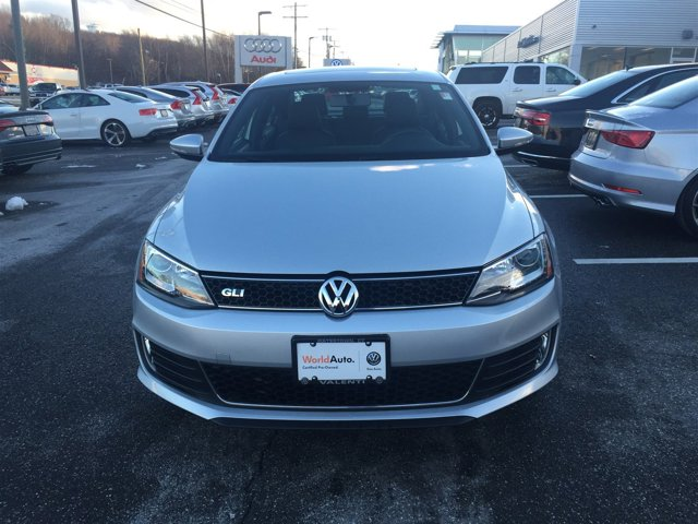 2014 Volkswagen Jetta Sedan GLI Autobahn wNav Turbocharged Front Wheel Drive Power Steering ABS