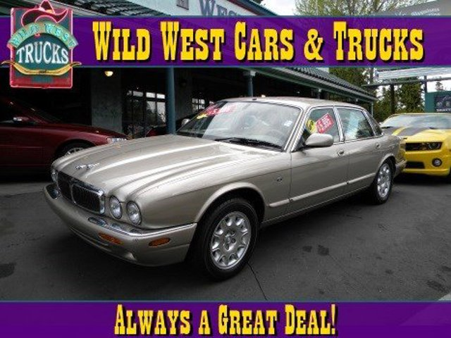 2000 Jaguar XJ  Traction Control Stability Control Rear Wheel Drive Tires - Front Performance T