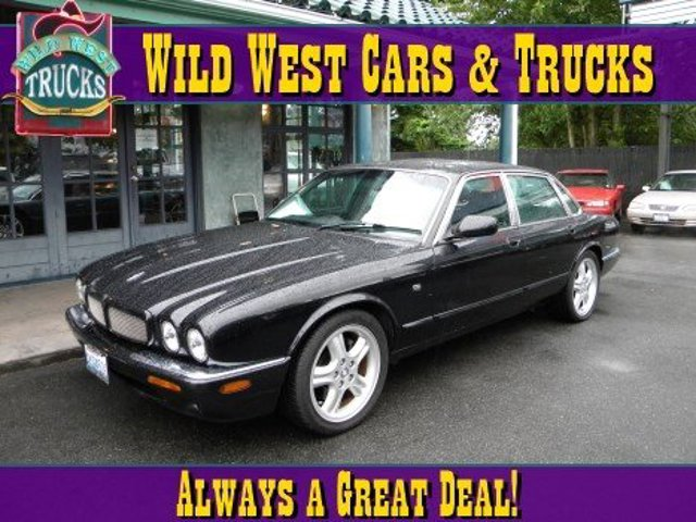 1999 Jaguar XJ  Supercharged Traction Control Stability Control Rear Wheel Drive Tires - Front