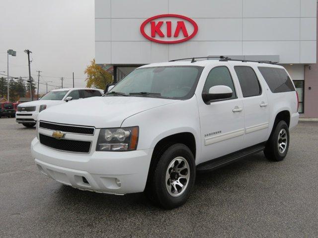 2011 Chevrolet Suburban LT Summit White