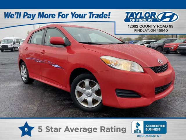 2010 Toyota Matrix Base Radiant Red