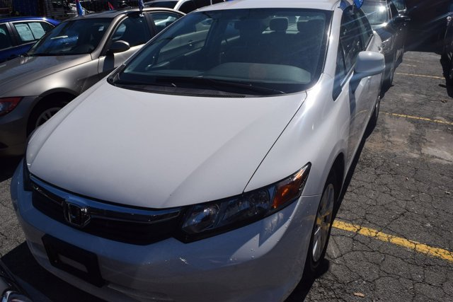 2012 Honda Civic Sdn LX Front Wheel Drive Power Steering Front DiscRear Drum Brakes Wheel Cover