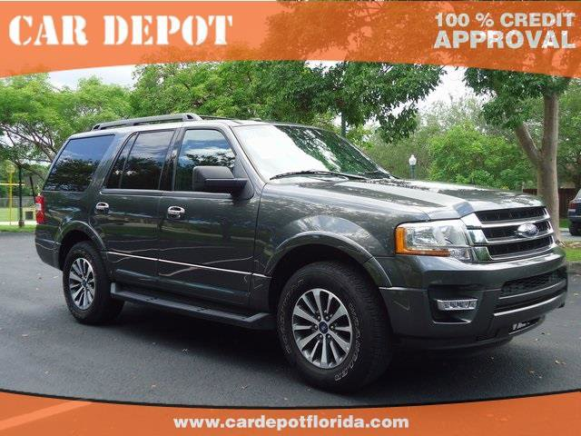 2016 Ford Expedition  Turbocharged Rear Wheel Drive Tow Hitch Power Steering ABS 4-Wheel Disc