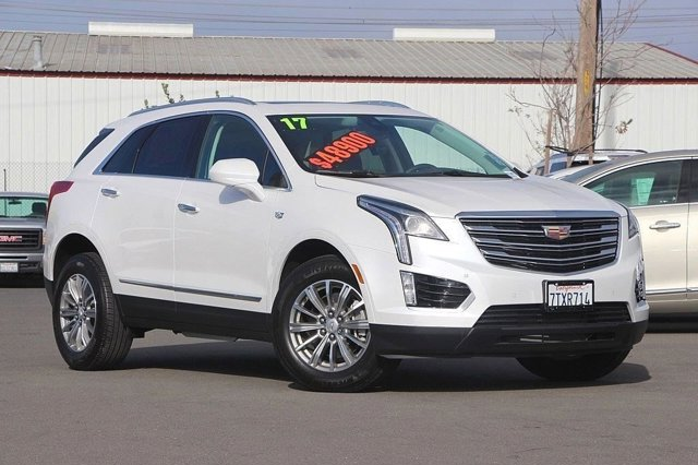 2017 Cadillac XT5 Luxury FWD Front Wheel Drive Power Steering ABS 4-Wheel Disc Brakes Aluminum