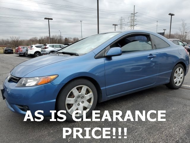 Used 2007 Honda Civic Cpe in Elyria, OH