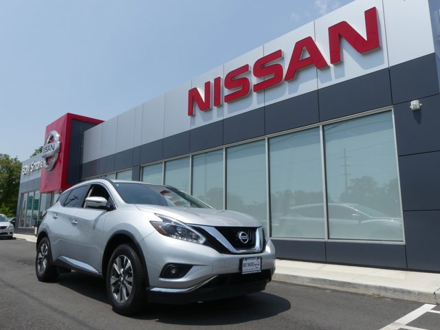 2018 Nissan Murano SV Brilliant Silver Metallic