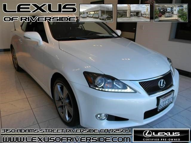 2013 Lexus IS 250C IS 250C Convertible 2D Keyless Start Rear Wheel Drive Power Steering 4-Wheel