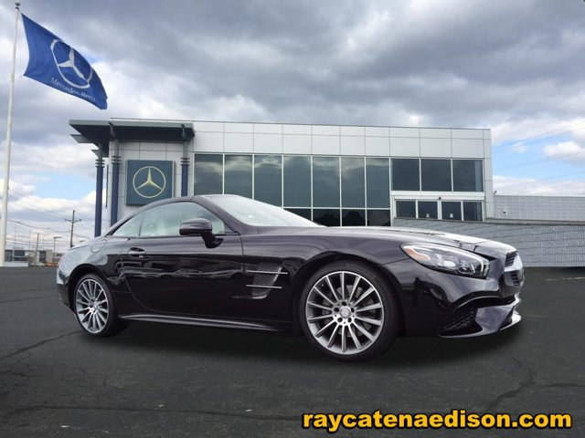 2017 Mercedes SL SL 450 Obsidian Black Metallic