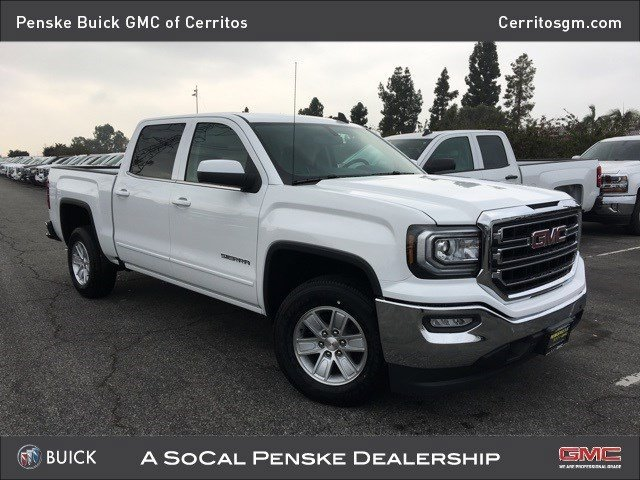 2017 GMC Sierra 1500 SLE Rear Wheel Drive Power Steering ABS 4-Wheel Disc Brakes Aluminum Wheel