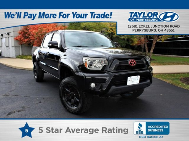 2014 Toyota Tacoma Black