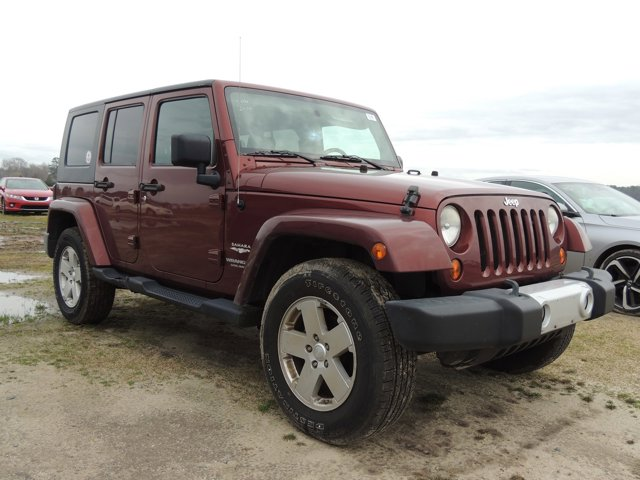 Red Rock Crystal Pearl 2010 Jeep Wrangler Unlimited SAHARA  NC