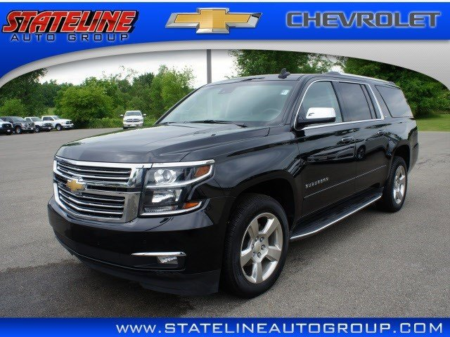 2015 Chevrolet Suburban LTZ Active Suspension Keyless Start LockingLimited Slip Differential Fo