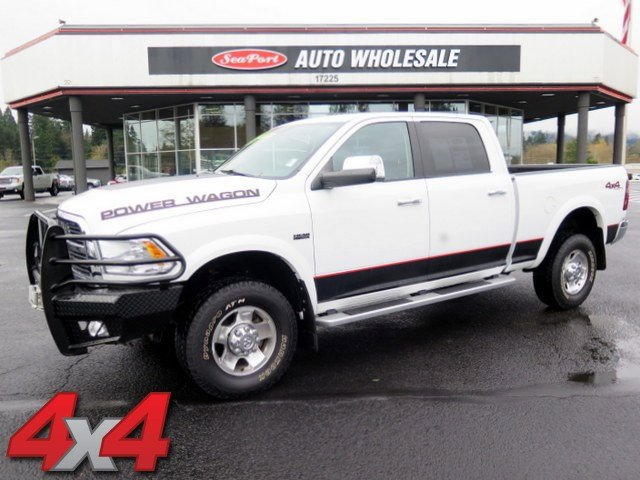 2012 Ram 2500 Laramie Power Wagon Four Wheel Drive LockingLimited Slip Differential Tow Hooks T