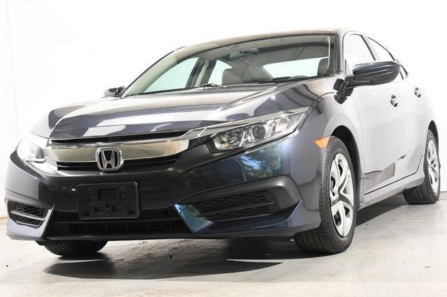 2016 Honda Civic Sedan LX Cloth interiorLike New exterior conditionLike New interior conditionLi