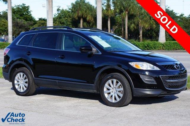 2010 Mazda CX-9 Sport 4dr SUV Front Wheel Drive Power Steering 4-Wheel Disc Brakes Aluminum Whee