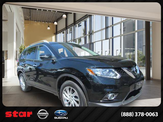 2014 Nissan Rogue SL Keyless EntrySecurity SystemCruise ControlPrivacy GlassClimate ControlTri