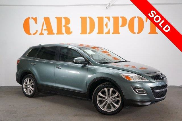 2012 Mazda CX-9 Grand Touring Front Wheel Drive Power Steering 4-Wheel Disc Brakes Aluminum Whee