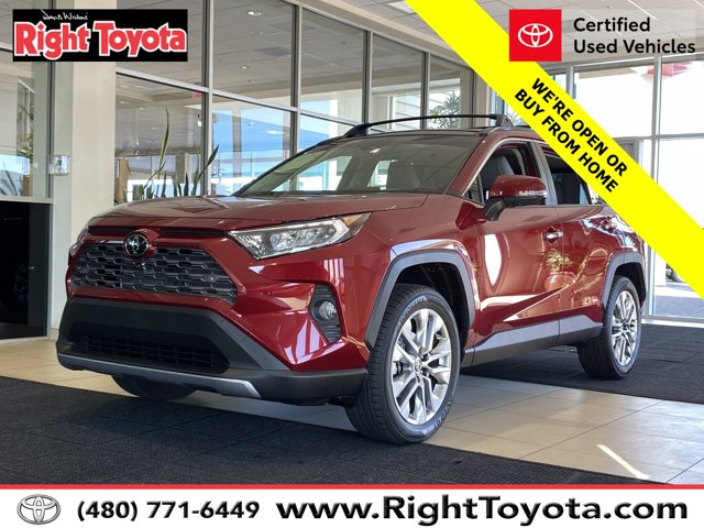 2020 Toyota RAV4 Limited Limited AWD Regular Unleaded I-4 2.5 L/152 [16]