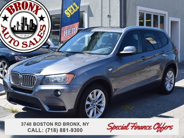 2013 BMW X3 xDrive28i Turbocharged All Wheel Drive Power Steering ABS 4-Wheel Disc Brakes Brak