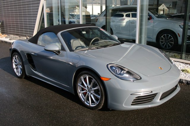 2017 Porsche 718 Boxster S SPORT CHRONO PACKAGE BOSE SURROUND SOUND SYSTEM AGATE GREY  PARTIAL LE