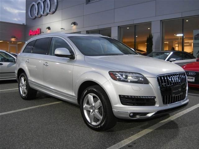 2014 Audi Q7 30L TDI Premium Turbocharged All Wheel Drive Power Steering ABS 4-Wheel Disc Brak