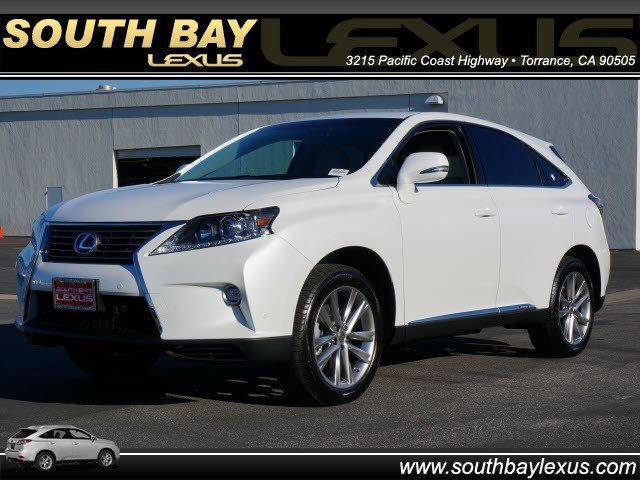 2015 Lexus RX 450h  Front Wheel Drive Power Steering ABS 4-Wheel Disc Brakes Brake Assist Alum