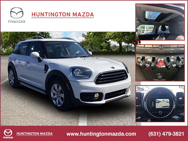 2019 MINI Countryman Cooper Turbocharged All Wheel Drive Power Steering ABS 4-Wheel Disc Brakes