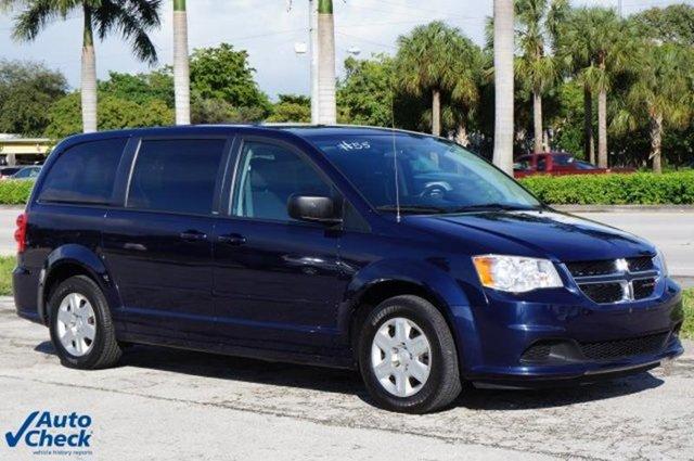2012 Dodge Grand Caravan SEAVP Front Wheel Drive Power Steering Steel Wheels Tires - Front All-