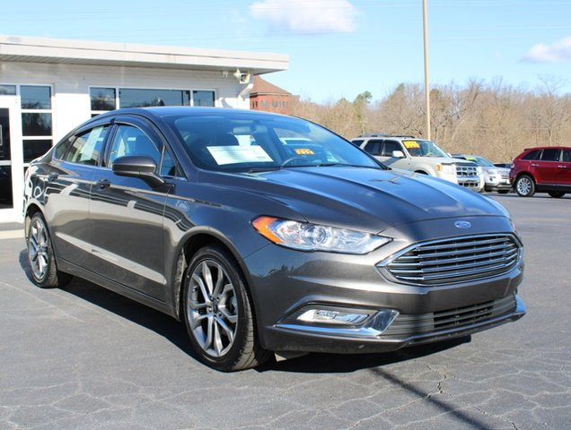 Magnetic 2017 Ford Fusion SE 4dr Car Winston-Salem NC