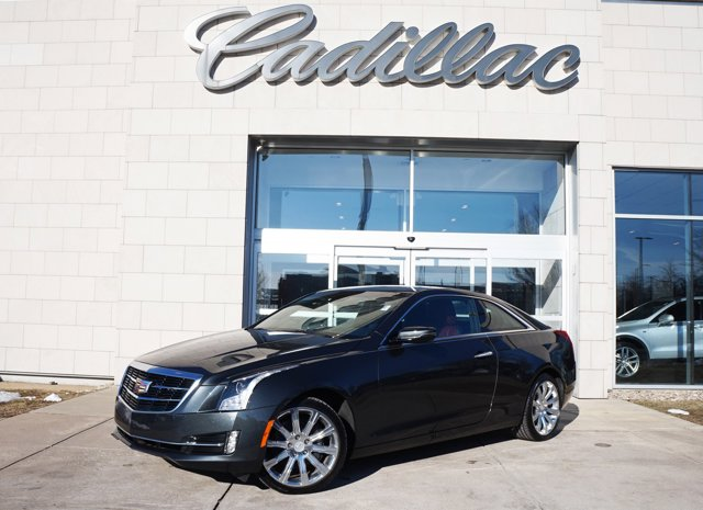 2015 Cadillac ATS Coupe Premium AWD Phantom Gray Metallic