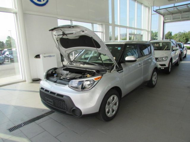 2015 Kia Soul Base Bright Silver