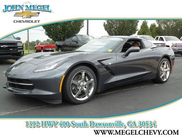 2014 Chevrolet Corvette Stingray 2LT LockingLimited Slip Differential Rear Wheel Drive Power Ste