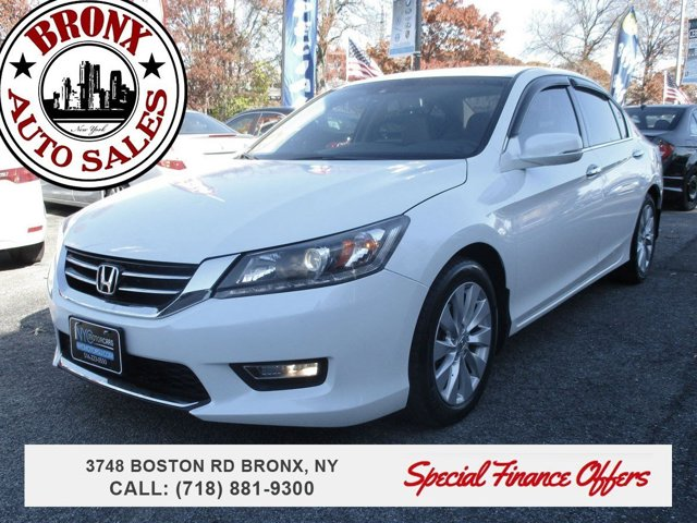 2013 Honda Accord Sdn EX-L Keyless Start Engine Immobilizer Front Wheel Drive Power Steering 4-