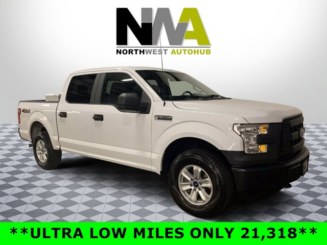 2015 Ford F-150 XL 4X4 SuperCrew Short Bed